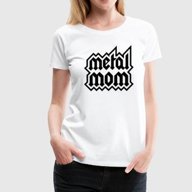 metal mom - Women's Premium T-Shirt