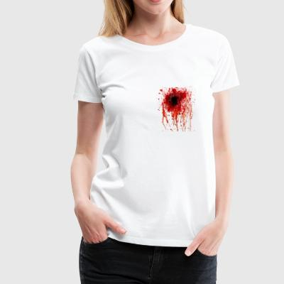 bullet hole - Women's Premium T-Shirt
