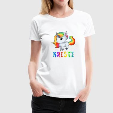 Kristian Unicorn - Women's Premium T-Shirt