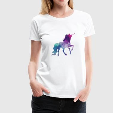 Unicorn Galaxy - Women's Premium T-Shirt
