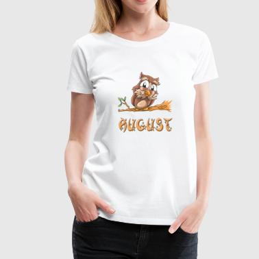 August Owl - Women's Premium T-Shirt
