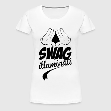 Illuminati Swag - Women's Premium T-Shirt
