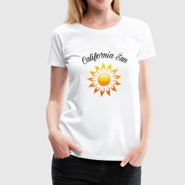 Cali sunlight - Women's Premium T-Shirt