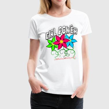 Girl Power: Lotus Flowers - Women's Premium T-Shirt