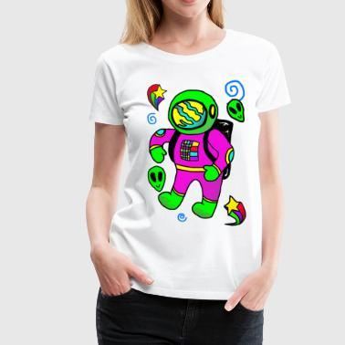 Space Explorer - Women's Premium T-Shirt