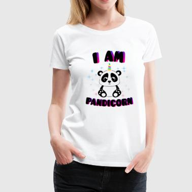 i am Pandicorn - Women's Premium T-Shirt
