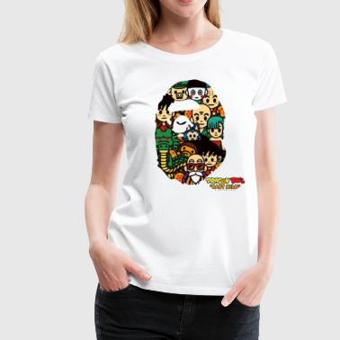 Dragon Ball x Bape - Women's Premium T-Shirt