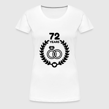 Marriage Mariage Wedding Anniversary 72 - Women's Premium T-Shirt