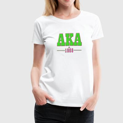 AKA Traditional 2 - Women's Premium T-Shirt