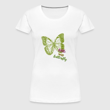 Little Miss Butterfly - Women's Premium T-Shirt