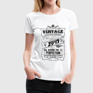 Vintage Aged To Perfection 1947 - Women's Premium T-Shirt