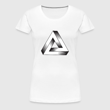 Impossible Triangle - Women's Premium T-Shirt