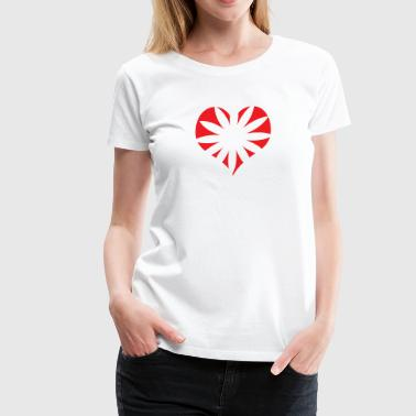 Heart Bursts - Women's Premium T-Shirt