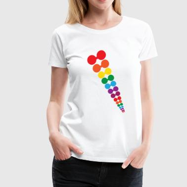 rain bow - Women's Premium T-Shirt