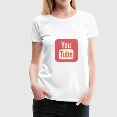 YouTube v1 - Women's Premium T-Shirt