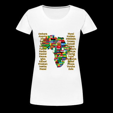 People of Africa - Women's Premium T-Shirt