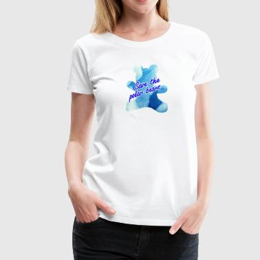 save polar bears - Women's Premium T-Shirt