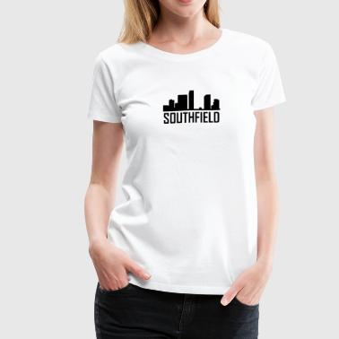Southfield Michigan City Skyline - Women's Premium T-Shirt