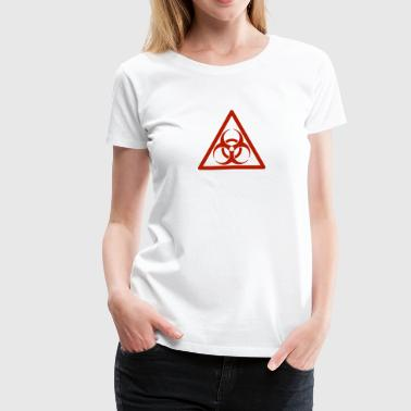 Biohazard Red - Women's Premium T-Shirt
