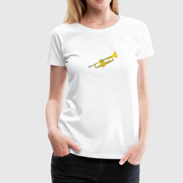 Trumpet Music is fun - Women's Premium T-Shirt