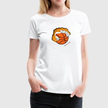 Basket ball - Women's Premium T-Shirt