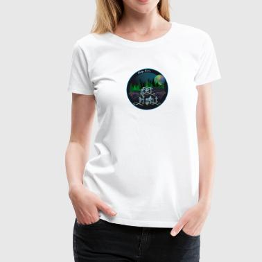 GET TIGHT - SCI - String Cheese Incident - Camping - Women's Premium T-Shirt