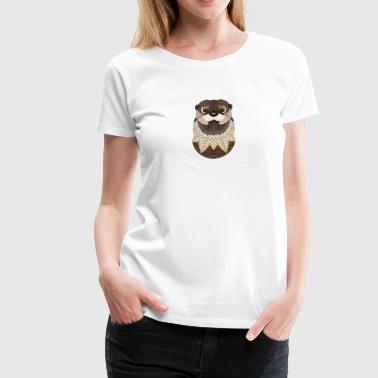 Ornate Otter - Women's Premium T-Shirt