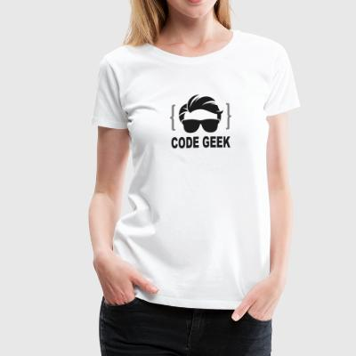 Code Geek - Women's Premium T-Shirt