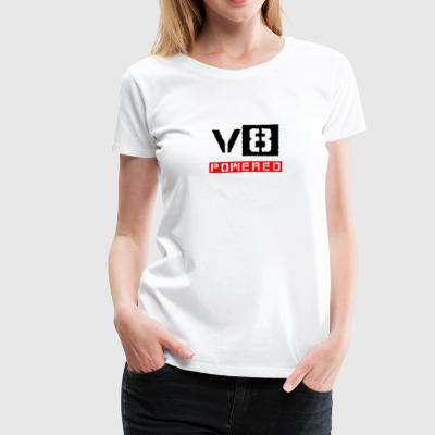 V8 powered red - Women's Premium T-Shirt