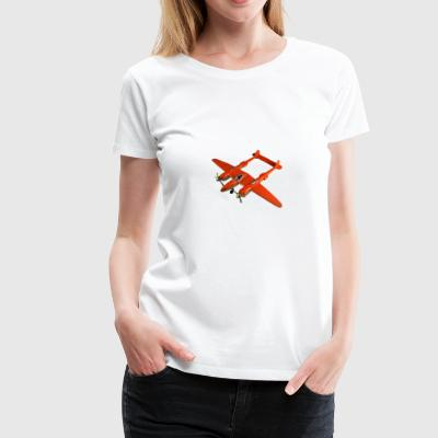 Hubley all metal Lockheed P 38 - Women's Premium T-Shirt