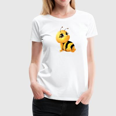 young insect bee wildlife - Women's Premium T-Shirt