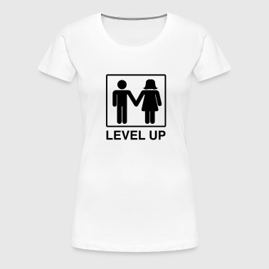 Level Up Marriage Couple - Women's Premium T-Shirt