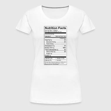 High Sodium Levels - Women's Premium T-Shirt