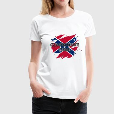 Confederate Rebel - Women's Premium T-Shirt