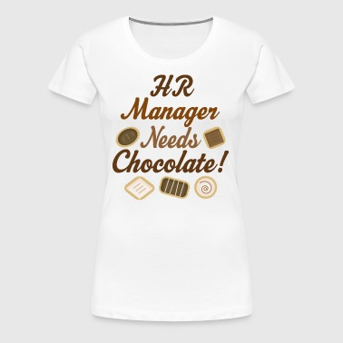 HR Manager Funny Gift - Women's Premium T-Shirt
