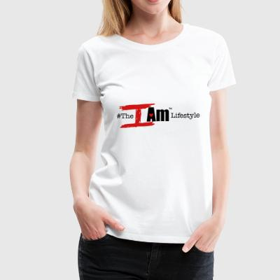 The I Am Lifestyle (Beta/Hashtag) - Women's Premium T-Shirt