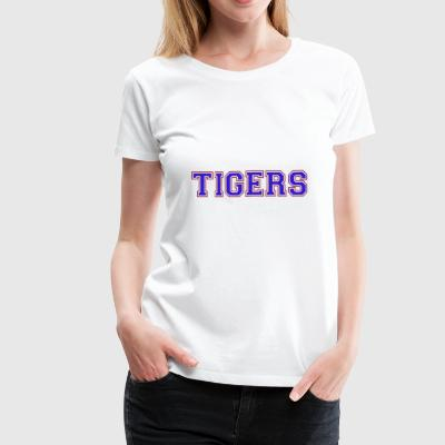 The TIGERS NFL - Women's Premium T-Shirt