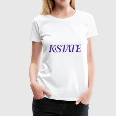 NFL The K State - Women's Premium T-Shirt