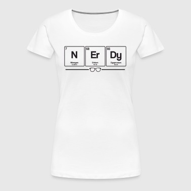 Nerdy elements - Women's Premium T-Shirt