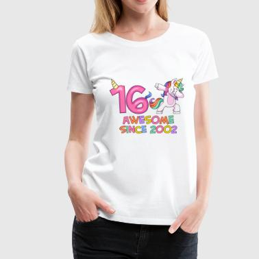 Unicorn Spirit Birthday Love - Women's Premium T-Shirt