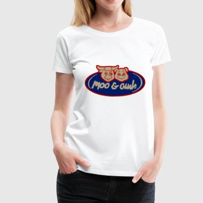 Moo and Oink Chicago - Women's Premium T-Shirt