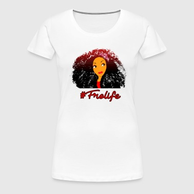 Fro life- Afro is life - Women's Premium T-Shirt