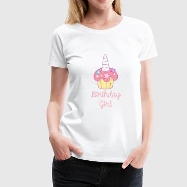 Unicorn Birthday Girl Design Unicorn Gift Birthday - Women's Premium T-Shirt
