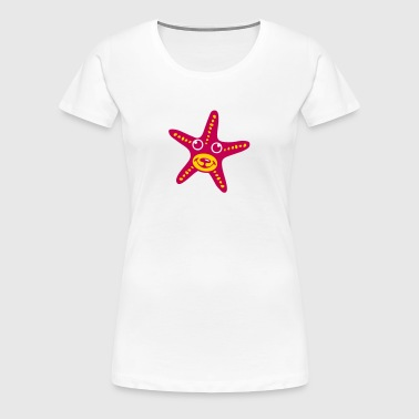 sea star fruit 611 - Women's Premium T-Shirt