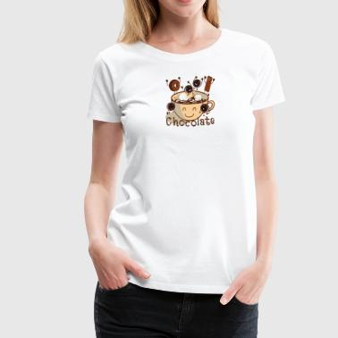 Hot Chocolate time - Women's Premium T-Shirt
