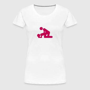 make love sex symbol icon 801 - Women's Premium T-Shirt