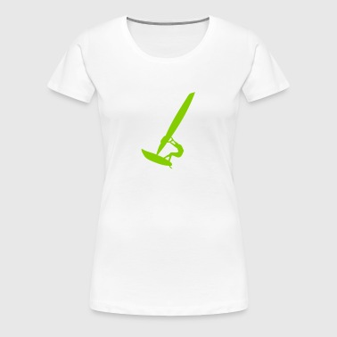 windsurfing sports - Women's Premium T-Shirt