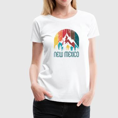 Retro New Mexico Design for Men Women and Kids - Women's Premium T-Shirt