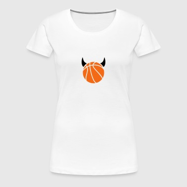 Basketball devil - Women's Premium T-Shirt