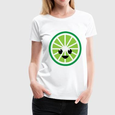 lime time - Women's Premium T-Shirt